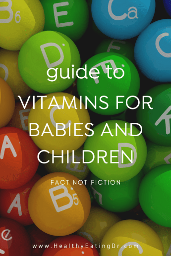 which vitamin supplements for babies and children