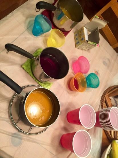 Prepare to dye.