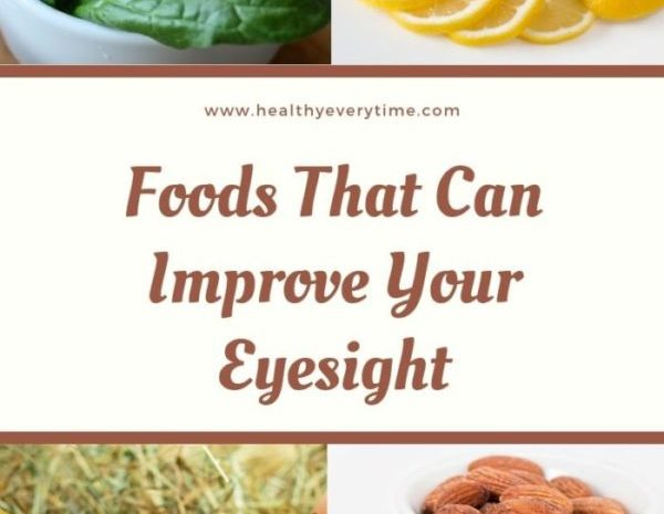 10 Foods That Can Improve Your Eyesight