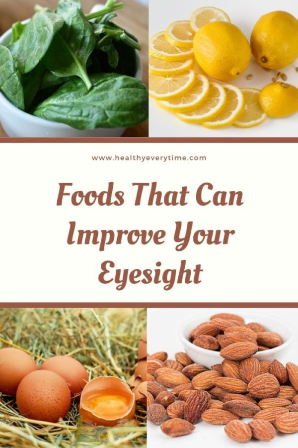 Foods that can improve your eyesight and Fruits good for the eyes