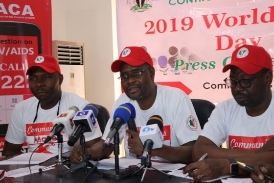 World AIDS day Press Conference In Nigeria