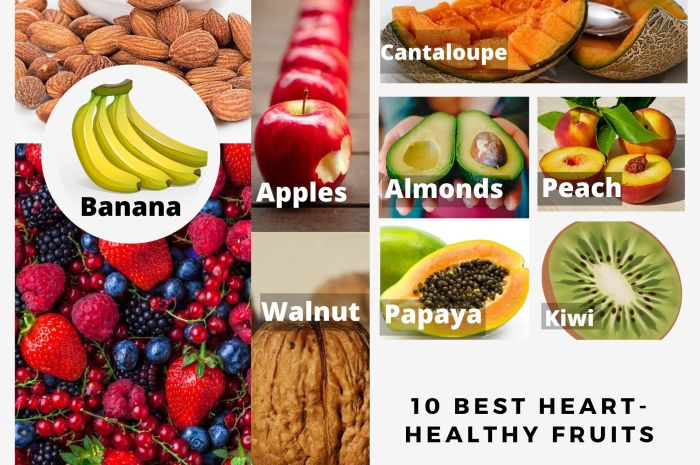 10 Best Heart Healthy Fruits