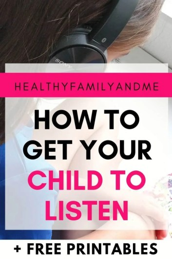 How to get your child to listen with parenting tips on parent child communication. Parenting 101 and easy mom life to raise kids who are happy. Stop yelling at your kids with parenting hacks like these. #parenting #parentingtips #parentinghacks #parenting101 #parentchildcommunication #momlife #motherhood