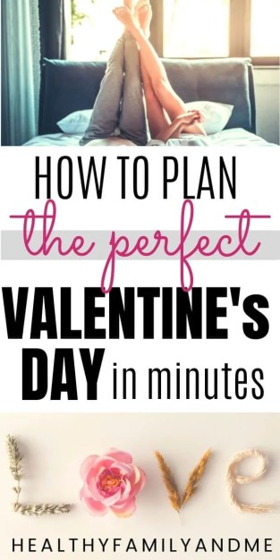 how to plan the perfect Valentine's day