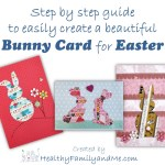 All you need to make your own beautiful Easter card.