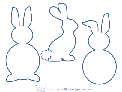 Cute bunnies for Easter
