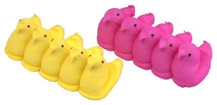 marshmallow peeps Easter candy for great family Easter tradition