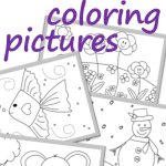 Kids coloring book with free coloring pages. #freecoloring #kidscoloring #coloringpictures #freeprintables