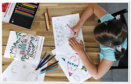 my magic coloring book. #coloringforkids #magiccoloring #kidslearning