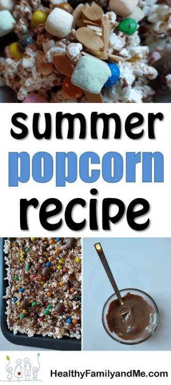 Popcorn recipe. Summer snack for kids. grab the recipe now and have fun with the kids making super yummy popcorn mix. #popcornrecipe #popcorn #summersnack #summersnackforkids