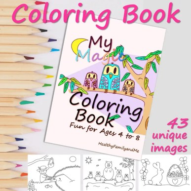 my magic coloring book with kids learning resources