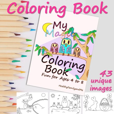 my magic coloring book with great coloring sheets for kids #coloring