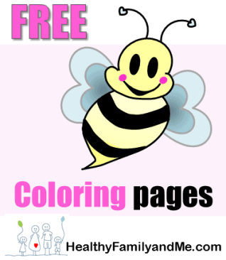 bumble Bee coloring page. Grab your free printable pages now! Click for the best bee art. #beecoloring #savethebee #bestbeeart #kidscoloring #adultcoloring