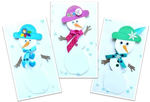Snowman Christmas Cards Ideas.Christmas Card Ideas Best Christmas Card Diy Healthy