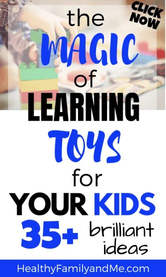 Top learning toys for toddlers, baby and pre-schoolers. Spoil your kids with educational toys this season. #learningtoys #educationaltoys #christmastoys #giftsforkids #kidslearning