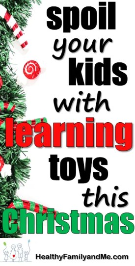 Spoil your kids with learning toys this Christmas. Find the best educational toys here. #learningtoys #educationaltoys #christmastoys #toysforkids #smartkids