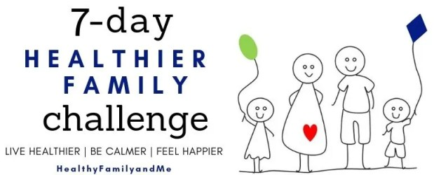 healthier family challenge #healthyliving