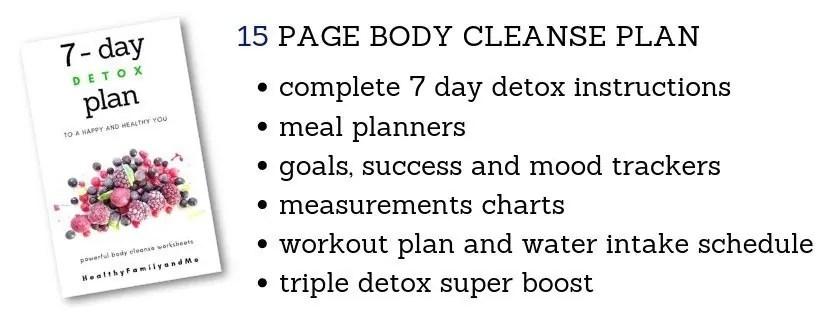 7 day detox plan healthkick7