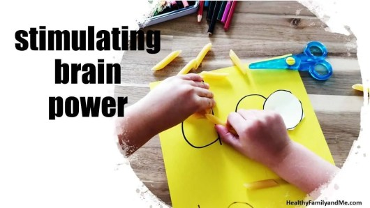 Healthy habits for kids stimulating brain power #healthyhabits
