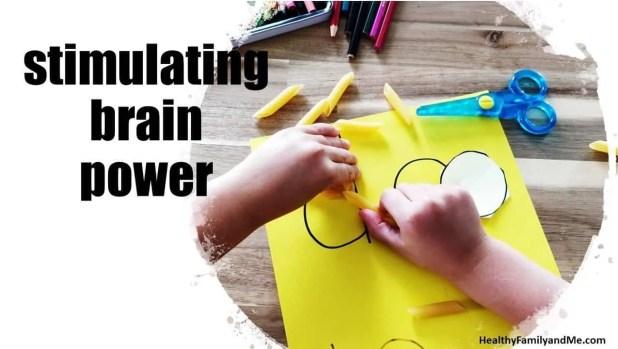 Healthy habits for kids stimulating brain