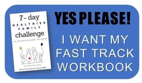 healthier family challenge workbook start