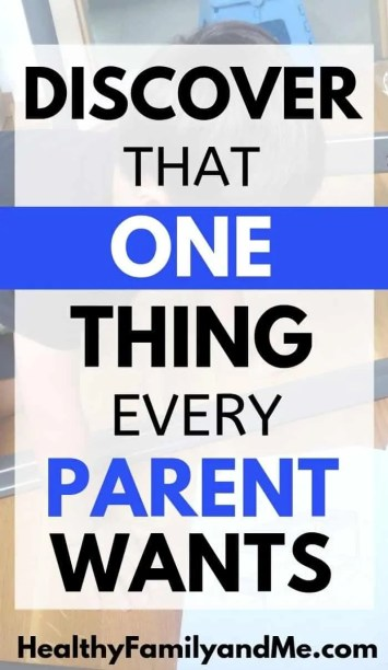 what parents want