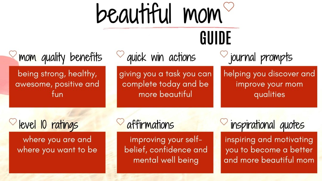 beautiful mom guide to help you be a better mom. mom life and motherhood made easy with parenting tips #momlife#beautifulmom #motherhood #parenting