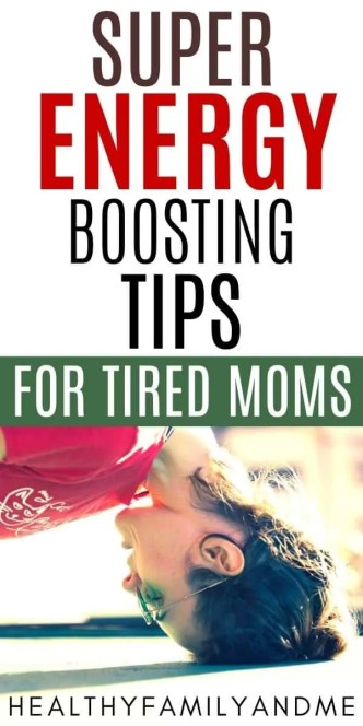 tired mom need energy boost