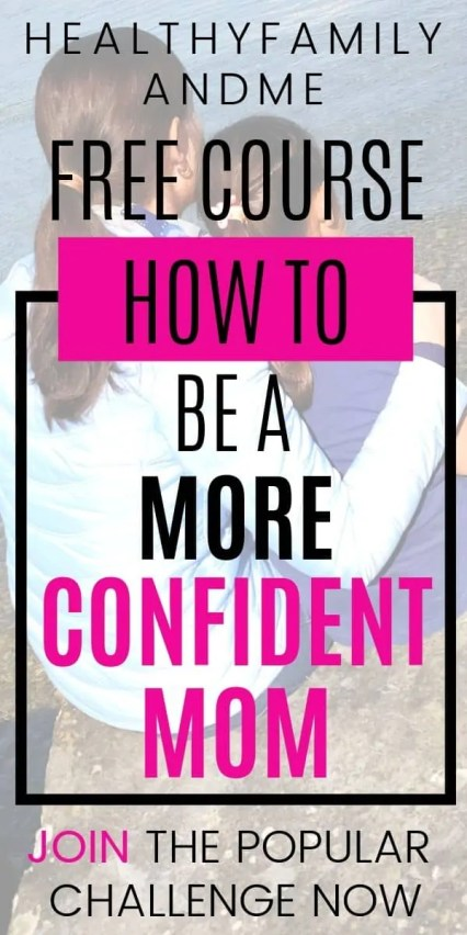 Do you want to know how to be a confident mom? Being a calm and in control mom has never been easier than with this free course. Join the free awesome parent challenge and learn how to be a better mom. free printables. #printables #momchallenge #parenting #freecourse #freeparentingprintables #momlife #motherhood #parentingchallenge