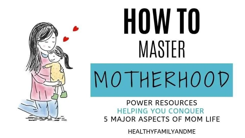 How to master motherhood, a free mini course to help you take control of your mom life. Loads of parenting tips and free printables. #momlife #motherhood #freeprintables #freecourse #parenting