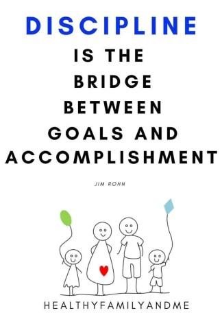 discipline for kids quote