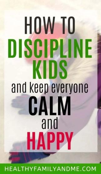 child with discipline