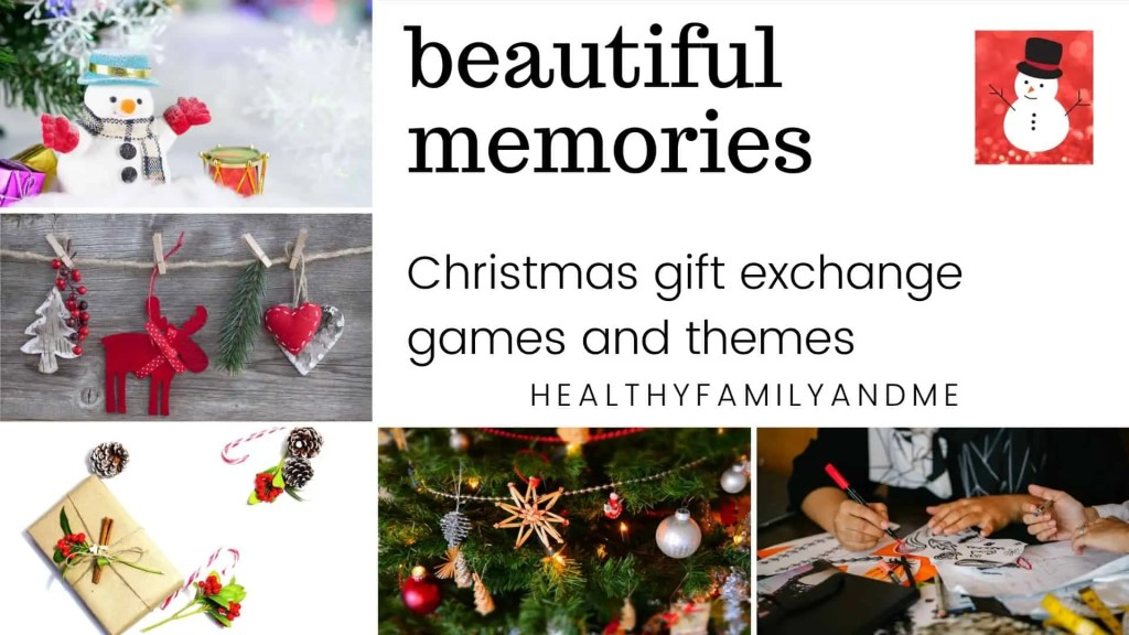 beautiful memories Christmas gift exchange games