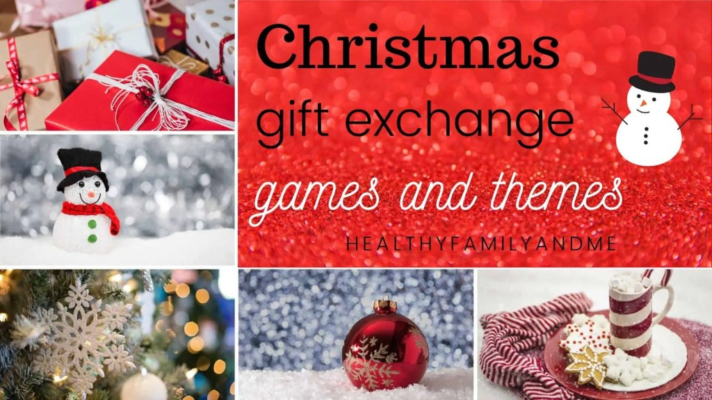 Christmas gift exchange games and themes