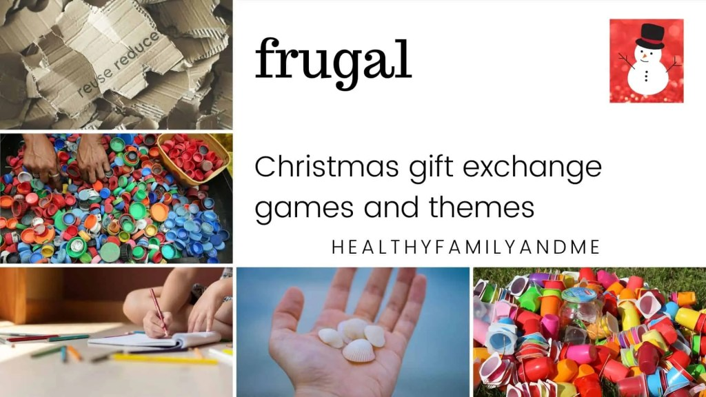 frugal Christmas gift exchange games