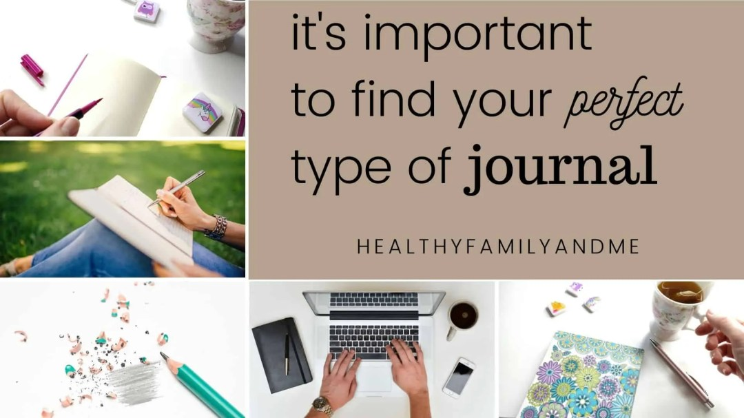 different type of journals