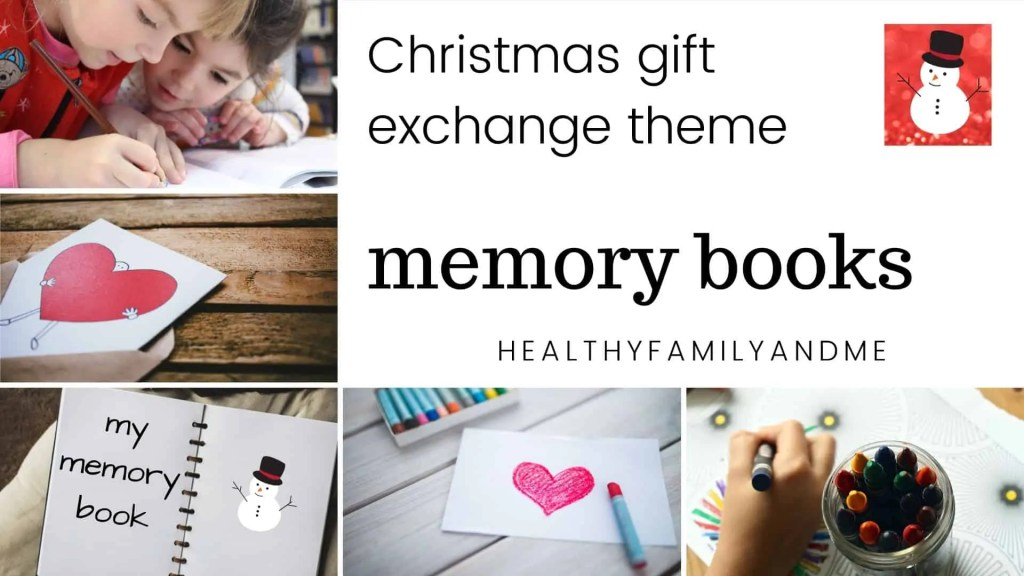 memory books Christmas gift exchange games