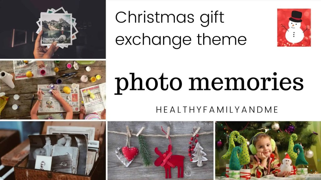 photo memories Christmas gift exchange games