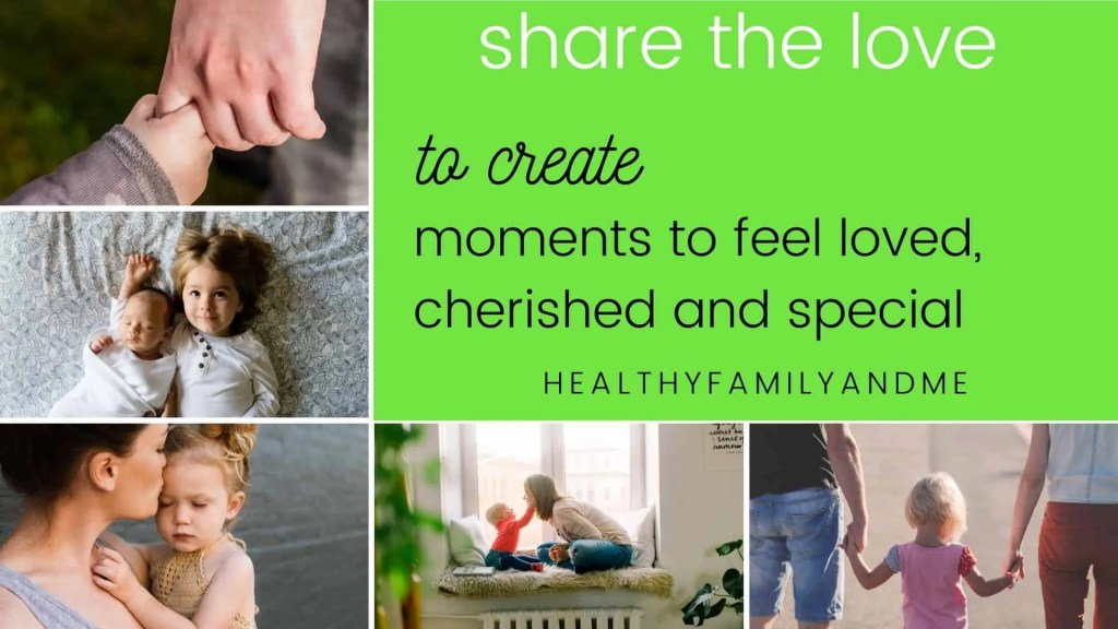 share the love with brilliant child
