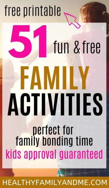 free activities for families