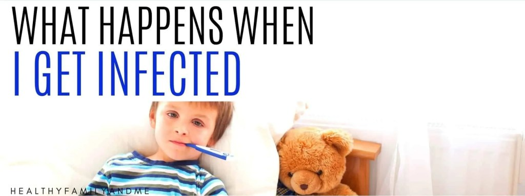 parenting tips when kids get infected