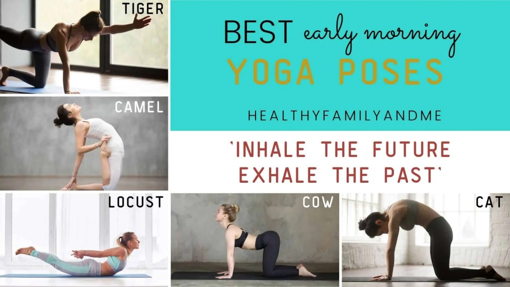 morning routine yoga poses