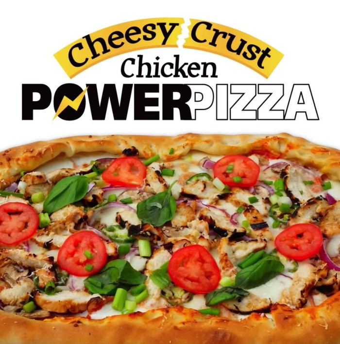 Chicken Power Pizza