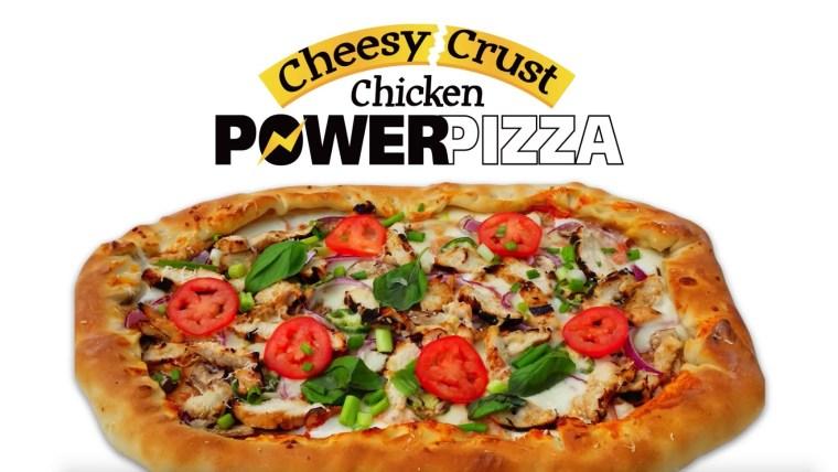 Chicken Power Pizza