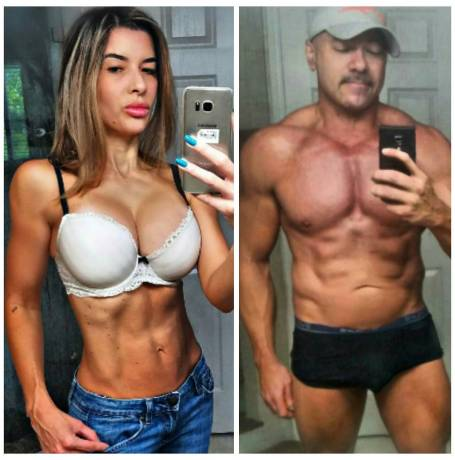 weightlifting couple
