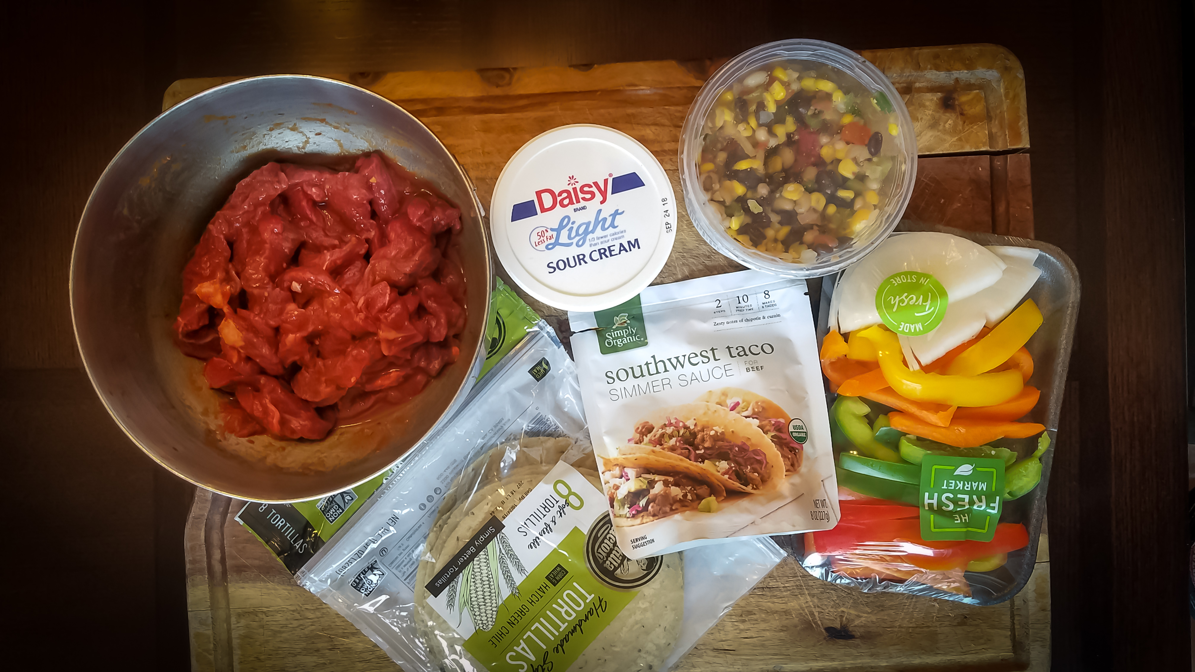 Healthy Steak Fajitas Recipe