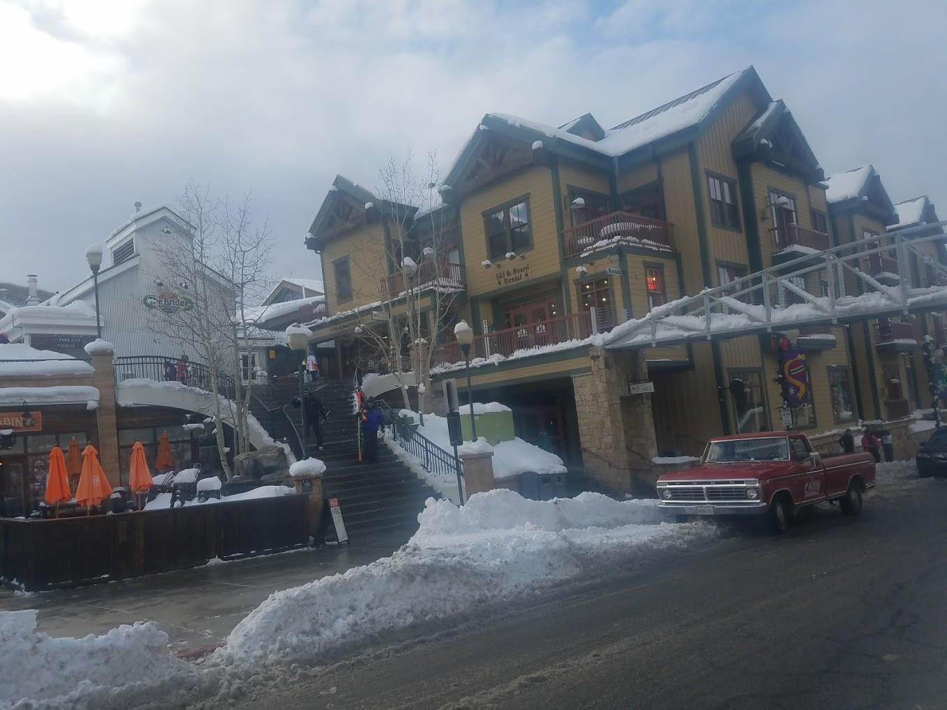 Main street Park City, Utah