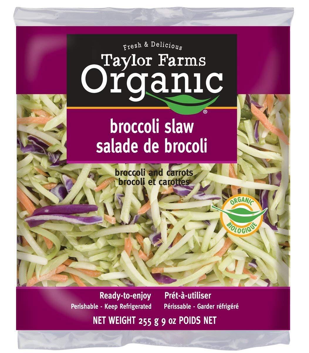 organic coleslaw salad