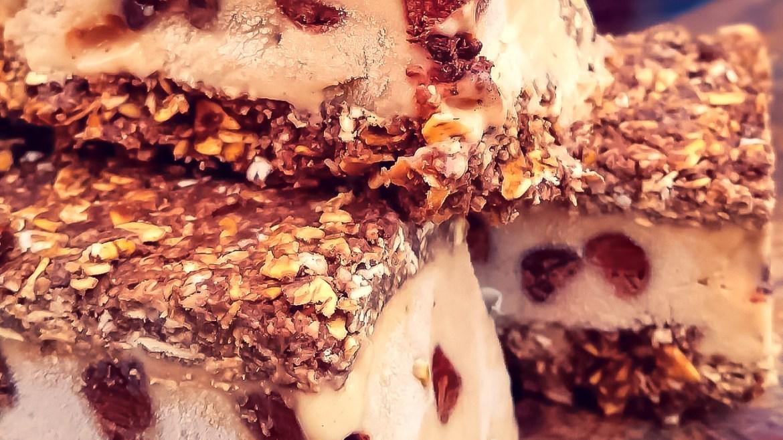Chocolate Brownie Protein Ice Cream Sandwich