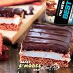 S'mores protein Cake Bar